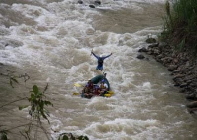 costa rica rafting at savegre